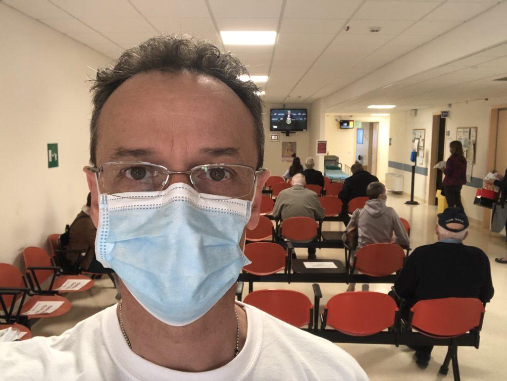 Sala d'attesa prelievi