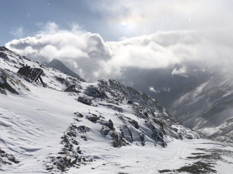 Uno sguardo sulla valle del Möltaller