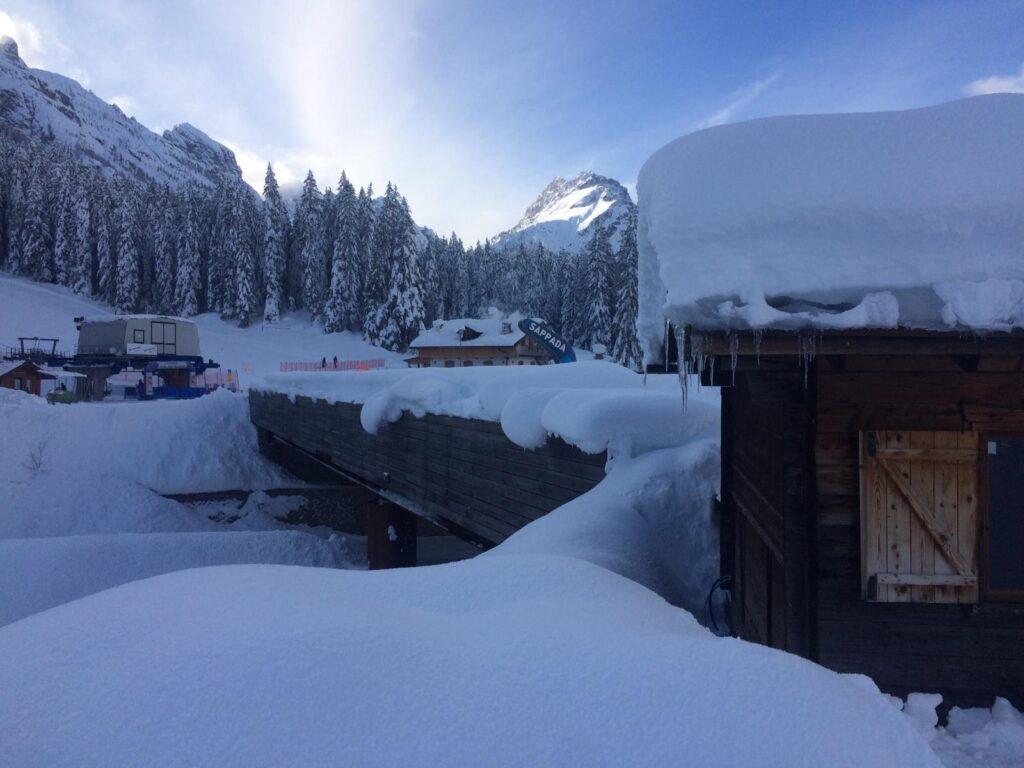 Quest'anno la neve rende Sappada ancora più bella